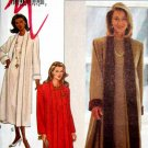 B3160 New Sewing Pattern Misses' Dramatic Duster & Dress Set Size 8 10 12