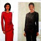B3371 New Sewing Pattern Miss Asymmetrical Formal Evening Top Gather Long Skirt Pant 14 16 18