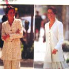 B3851 New Sewing Pattern Misses' Suit Set of Pant or Skirt with Long Jacket Size 6 8 10