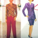 B4096 New Sewing Pattern Tulip Jacket Weskit Pants & Skirt Wardrobe Mix & Match Size 6 8 10