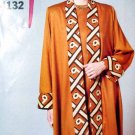 B4132 New Sewing Pattern Misses Dramatic Long Duster Jacket over Sheath Dress Set Size 6 8  10