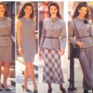 B4264 New Sewing Pattern Misses' Career Wardrobe Jacket Skirts Pants Sheath Dress Size 6 8 10 12