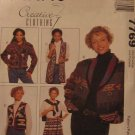 M7769 New Sewing Pattern Miss Juniors Creative Craft Blanket Jacket Vest Wrap Skirt 8 10 12 14 16