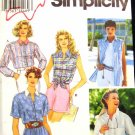 S9014 New Sewing Pattern Misses' Shirt Top Classic Sleeves Long, Short, or Sleeveless Size 6 8 10