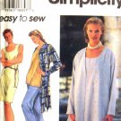 S9437 New Sewing Pattern Misses Casual Wardrobe Jacket Vest Top Pants Size 6 8 10