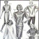SS120 New Sewing Pattern Knits Dress Top Skirt Sweater Option Fleece 30 32 34 36 38 40 42 44 46