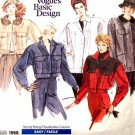V1968 New Sewing Pattern Misses Vogue Jean Jacket Coat Cropped Size 10