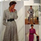 M4102 Sewing Pattern Dress Jumpsuit Work Office Career sz 6 8 10