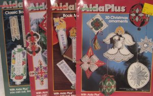 Aida Plus Cross Stitch Pattern Assortment