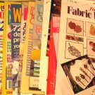 Crafts Pattern Magazine & Leaflet Assortment