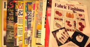 Crafts Pattern Magazine & Leaflet Assortment
