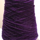 Purple 3 11 Acrylic Knitting Machine or Hand Crochet Cone Yarn Thread Fingering or Lace Weight