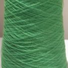Lime Neon Acid Green Acrylic Knitting Machine or Hand Crochet Cone Yarn Fingering or Lace Weight