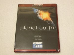 Planet Earth HD DVD Pole Mountains Deep Ocean 3 Episodes