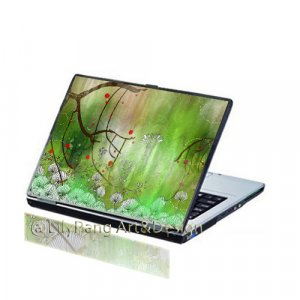 Spring Customizable Laptop Skin