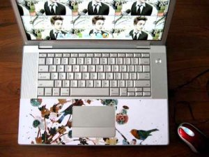 Laptop Skin Wrist Area Skin