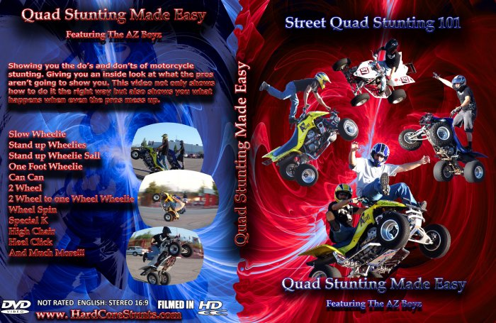 Quad Stunting Made Easy