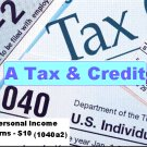$5.99/Individual Income Tax Returns 1040A @ A Tax & Credit