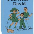 FUN WITH DAVID Dick and Jane PRE-PRIMER Early Basic Reader HB