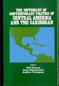 DICTIONARY POLITICS CENTRAL AMERICA CARIBBEAN Cuban Mexico Cuba ++ DJ
