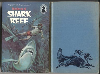 3 THREE INVESTIGATORS Secret of Shark Reef #30 ALFRED HITCHCOCK 1st  Edition 1979