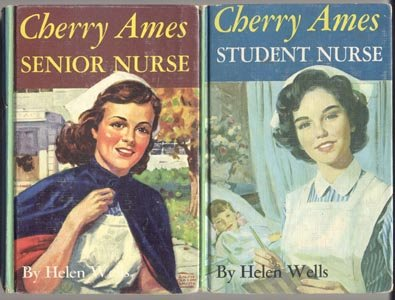 CHERRY AMES Senior Nurse #2 HELEN WELLS WWII Nursing DJ