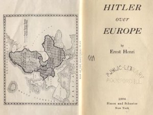 Hitler Over Europe WWII Nazi Germany ERNST HENRI Goering 1*HB