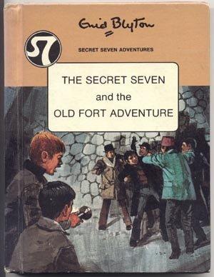 SECRET SEVEN 7 & OLD FORT ADVENTURE Enid Blyton 1972 HB