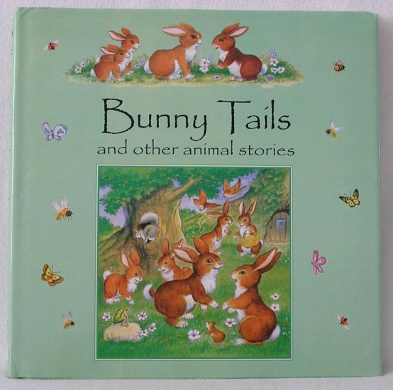 BUNNY TAILS Repchuk ANIMAL Dog BADGER Story Book 1*DJ