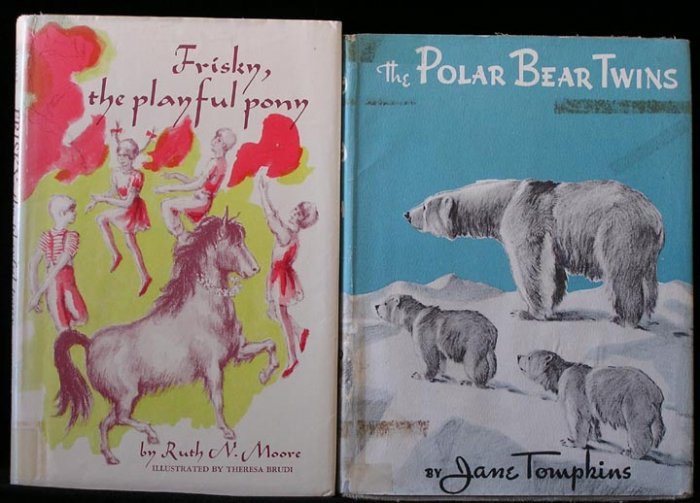 POLAR BEAR TWINS CUBS Artic JANE TOMPKINS Kurt Wiese DJ