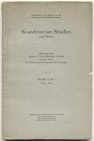 SCANDINAVIAN STUDIES Shakespeare NORWAY Norwegian Book MARTIN RUUD