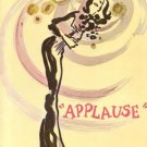 APPLAUSE Musical LAUREN BACALL Souvenir Book Program PHOTOS