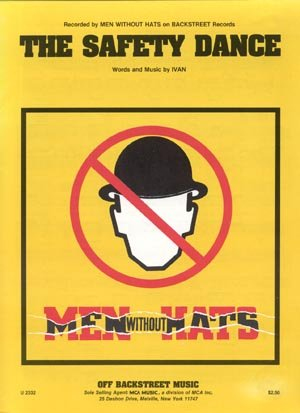 SAFETY DANCE Men Without Hats IVAN Sheet Music POP ROCK Guitar PIANO Vocal LYRICS