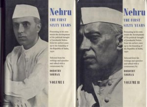 2 BOOKS Jawaharlal Nehru INDIA REPUBLIC History BIOGRAPHY 1st DJ