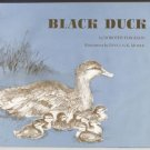 Black Duck HABITAT Salt Marsh Hawk Snapping Turtle Dorothy Ferguson HB Book