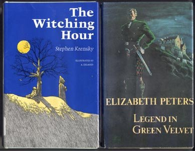 Witching Hour WITCH Magic CHILDREN Cats STEPHEN KRENSKY 1st DJ