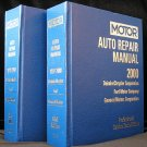 Motor Auto Repair Manual 1997-2000 Professional Service Guide Book GM Ford DAIMLERCHRYSLER