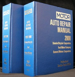 Motor Auto Repair Manual 1997-2000 Professional Service Guide Book GM Ford DAIMLERCHRYSLER