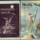 MOSTLY MAGIC Witch Cat WIZARD Ruth Chew RARE 1st HB DJ
