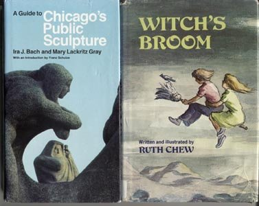 Witch's Broom MAGIC STORY Ruth Chew RARE 1977 1st DJ