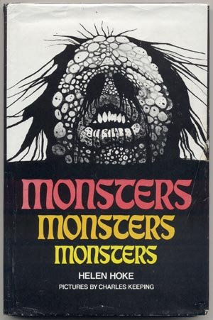 Monsters H.P.LOVECRAFT H.G.Wells ERIC RUSSELL Saki RAY BRADBURY Helen Hoke DJ