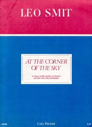 Corner of the Sky LEO SMIT Indian SONGBOOK Flute OBOE Piano GUITAR Vocals LYRICS