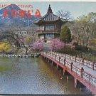 Sightseeing Korea WWII SOUTH History MAPS Architecture Landmarks ART English KOREAN Vintage Photos
