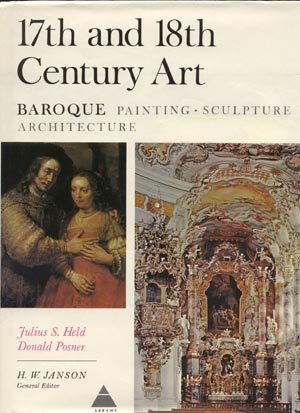 17th & 18th Century ART Baroque Painting Sculpture Architecture JULIUS HELD Donald Posner 1st DJ