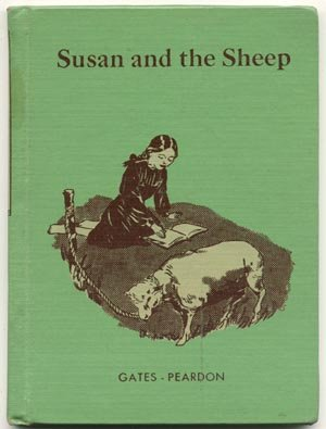 SUSAN & THE SHEEP Dick and Jane BASIC EARLY READER 1953 HB