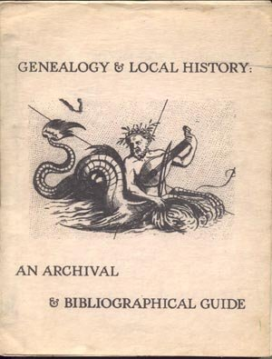 Genealogy & Local History RARE Antique Archival & Bibliographical Guide Book JAMES SWEET