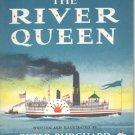 RIVER QUEEN Steamboat Riverboat Race Book PETER Burchard 1st DJ