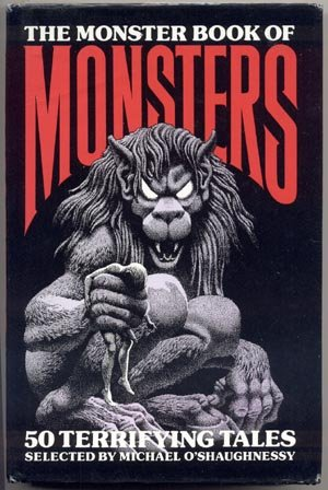 MONSTER BOOK OF MONSTERS Witch DEMON Dragon LEPRECHAUNS Ogre YETI Michael O'Shaughnessy 1st DJ