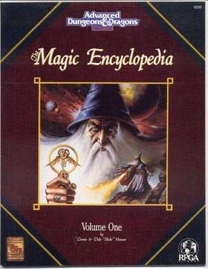 Magic Encyclopedia Volume 1 AD&D Advanced Dungeons and Dragons