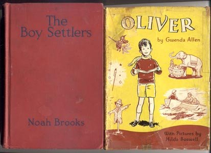 OLIVER SERIES BOOK Little Witch GYPSIES Circus PIRATES  Gwenda Allen 1961 HB DJ